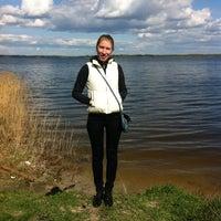 Photo taken at оз. Лазерное by Анжелика on 4/30/2012