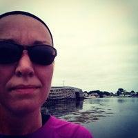Photo taken at Cribstone Bridge by Jen R. on 6/18/2012