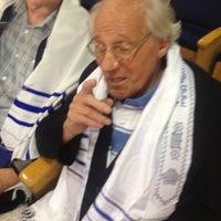 Photo taken at Sinagoga da Hebraica by Jose Luiz G. on 3/31/2012