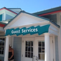 Photo taken at SeaWorld Guest Services by JW M. on 7/14/2012