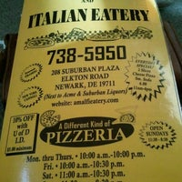 Photo taken at Amalfi Pizza by Stefanie D. on 2/12/2012