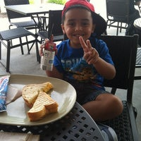 Photo taken at Panera Bread by Mariangely on 8/25/2012
