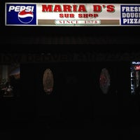 Photo taken at Maria D's Sub Shop by Alex A. on 3/17/2012