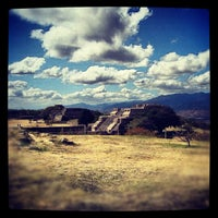 Photo taken at Monte Albán by Gabriela P. on 8/6/2012