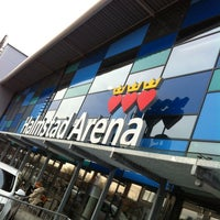 Photo taken at Halmstad Arena by Dag S. on 4/13/2012
