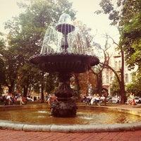 Снимок сделан в Площадь Ивана Франко пользователем Lena U. 7/17/2012