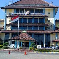 Photo taken at Kantor Manajemen Univ. Airlangga by Ri_Ra on 7/24/2012