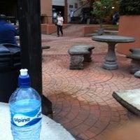 Photo taken at Plaza La Misión (ULACIT) by David C. on 6/1/2012