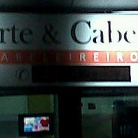 Photo taken at Arte & Cabelo Cabeleireiros by Rafael P. on 7/23/2012