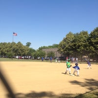 Photo taken at Foster Park Field House by Channon on 6/9/2012
