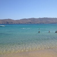 Photo taken at Panormos Beach by UUalter G. on 8/25/2012