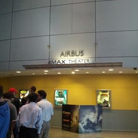 Photo taken at Airbus IMAX Theater by George D. on 8/22/2012