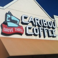 Photo taken at Caribou Coffee by Mark S. on 8/19/2012