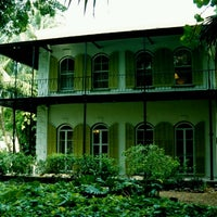 Photo taken at Ernest Hemingway Home & Museum by Amanda A. on 6/30/2012