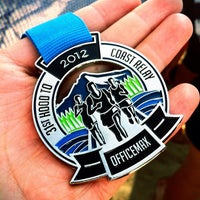 Photo taken at Hood To Coast FINISH LINE by Victor N. on 8/26/2012