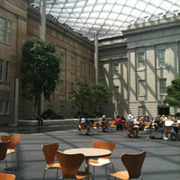 Photo taken at Robert and Arlene Kogod Courtyard by Michael R. on 7/5/2012