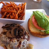 Photo taken at Square Burger by Paul W. on 3/25/2012