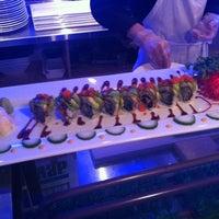 Photo taken at Umami Sushi by Frank P. on 5/10/2012