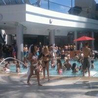 Photo taken at Palms Pool & Dayclub by Shawn W. on 8/3/2012