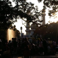 Photo taken at Alun-Alun Kota Malang by Vy N. on 8/20/2012