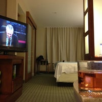 Photo taken at SpringHill Suites Long Island Brookhaven by Scott C. on 2/21/2012