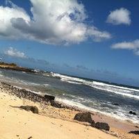 Photo taken at Salt Pond Beach Park by Angie C. on 7/8/2012