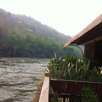 Photo taken at River Kwai Village Hotel Kanchanaburi by Uma A. on 2/25/2012