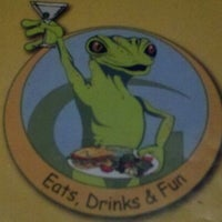 Photo taken at Geckos Bar and Tapas by Brett W. on 3/20/2012