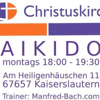 Photo taken at Aikido Kaiserslautern by Manfred B. on 8/4/2012