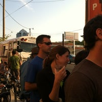 Photo taken at Pie Pushers by mike s. on 4/25/2012