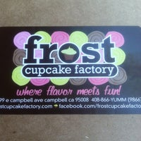 Photo taken at Frost Cupcake Factory by Rachel H. on 3/11/2012