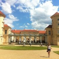 Photo taken at Schloss Rheinsberg by Robert P. on 5/28/2012