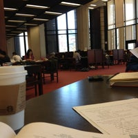 Photo taken at Robarts Library by Fiona G. on 4/17/2012