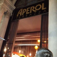Photo taken at Terrazza Aperol by Damiano C. on 8/2/2012