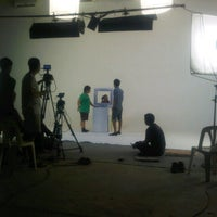 Photo taken at Superjeew Studio by nanal n. on 7/3/2012