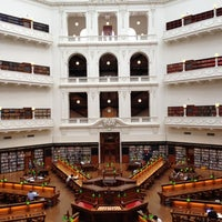 Photo taken at State Library of Victoria by Ana F. on 3/31/2012