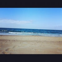 Photo taken at Playa Las Redes by Marta F. on 7/27/2012