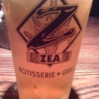 Photo taken at Zea Rotisserie & Grill by Dorothy M. on 3/14/2012