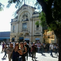 Photo taken at Praça XV de Novembro by Monica D. on 8/3/2012