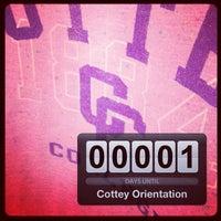 Photo taken at Cottey College by Miranda W. on 8/23/2012