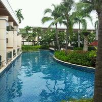 Photo taken at Sheraton Hua Hin Resort & Spa by Rakkiat S. on 8/27/2012