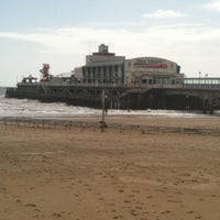 Photo taken at Bournemouth Pier by Vanessa S. on 4/17/2012