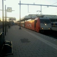 Photo taken at Intercity direct Breda — Amsterdam Central by Lesley E. S. on 8/3/2012
