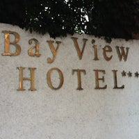 Photo taken at Bayview Hotel by Dory B. on 5/4/2012