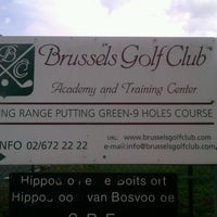 Photo taken at Brussels Golf Club by Cédric H. on 8/24/2012