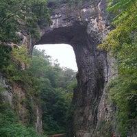 Photo taken at Natural Bridge (Virginia) by Mark E. on 8/25/2012