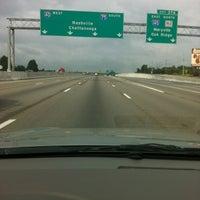 Photo taken at I-75/275 & I-640 by WhitneyGenea on 8/7/2012