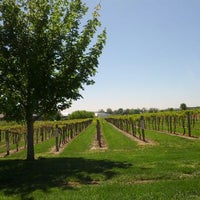 Photo taken at Huber's Orchard, Winery, & Vineyards by David B. on 4/6/2012