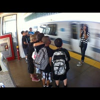 Photo taken at Bay Fair BART Station by Dj Mere 1. on 5/31/2012