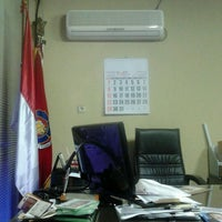 Photo taken at Jakarta Fire Service Head Quarter by Leorencius M. on 7/4/2012